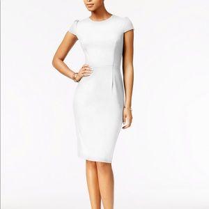 Betsey Johnson Puff Sleeved Dress